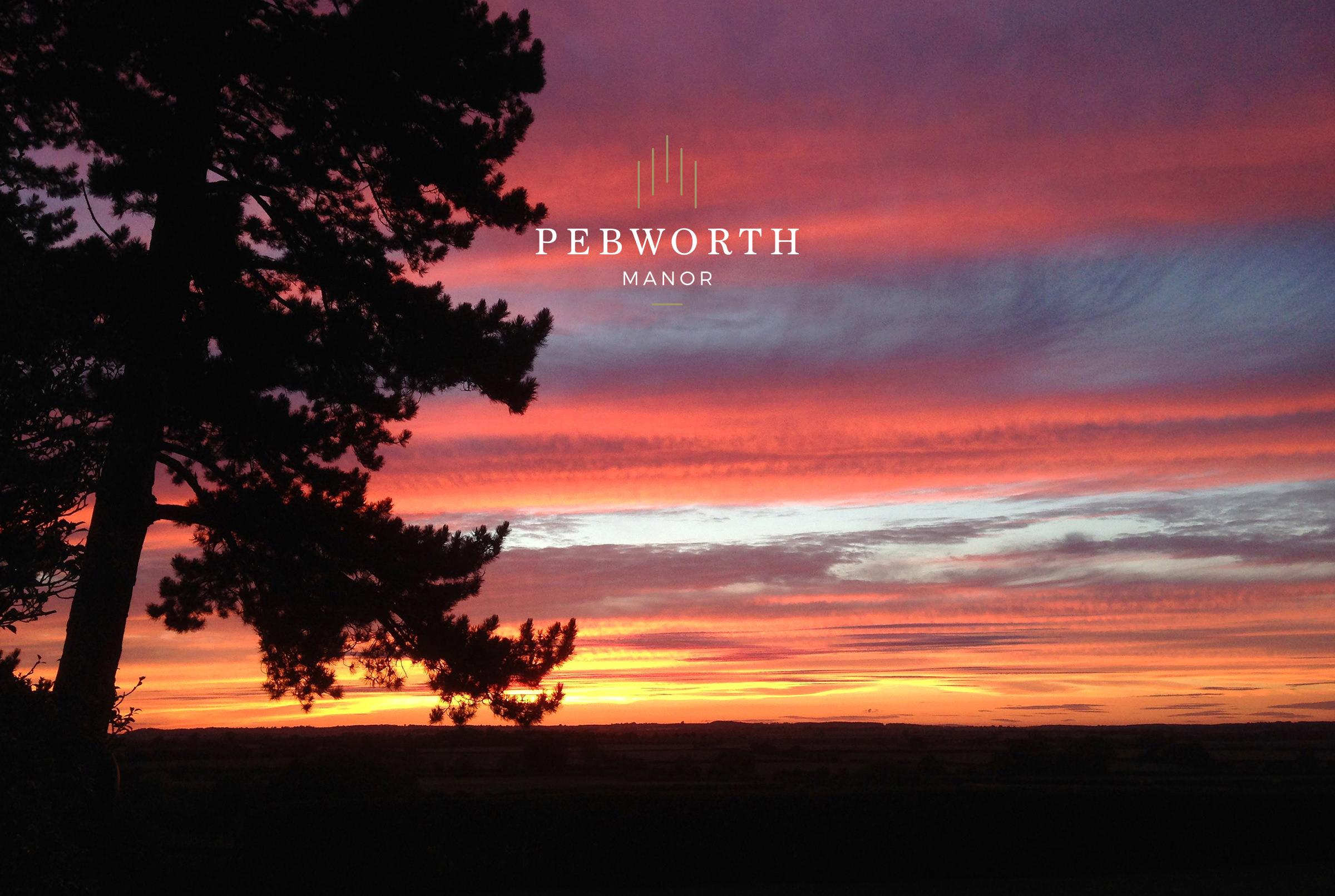 Sunset at Pebworth Manor